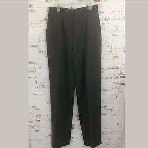 Giorgio Armani Women's Dress Pants Charcoal Gray